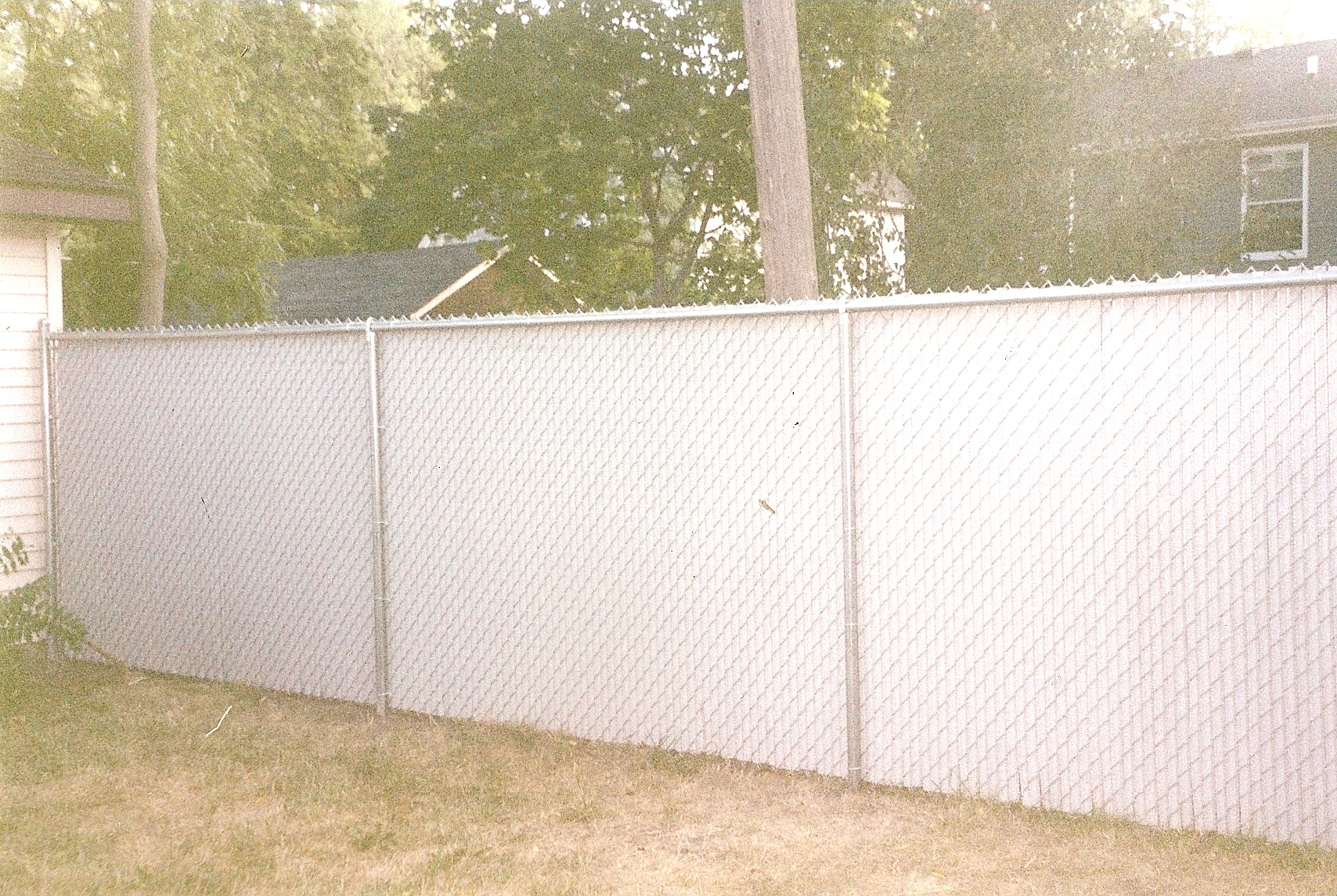 Chain Link Fence Privacy Ideas plain chain link fence privacy slats slat top view inside design ideas